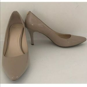 COLE HAAN Grand OS Patent Nude Heels